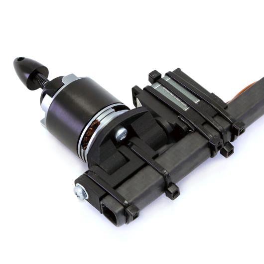 3D printed tricopter tilt mechanism