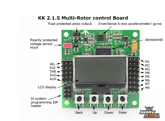 powering the go pro through the kk2 1 5 board rcexplorer rh rcexplorer se Kk2.1.5 Wiring KK2 Board Set Up