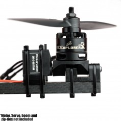 Tricopter tilt mechanism
