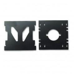 Mini Tricopter camera plates