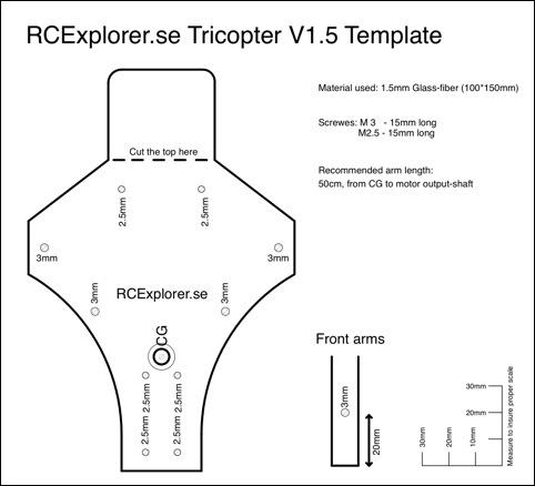 The tricopter v2_5 build | flite test.