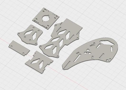 Mini Tricopter design files