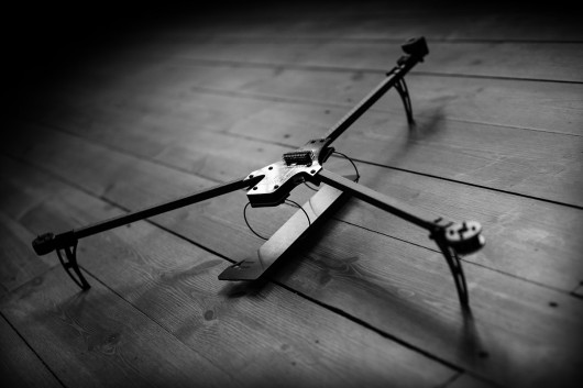 Tricopter Naze32 frame PDB