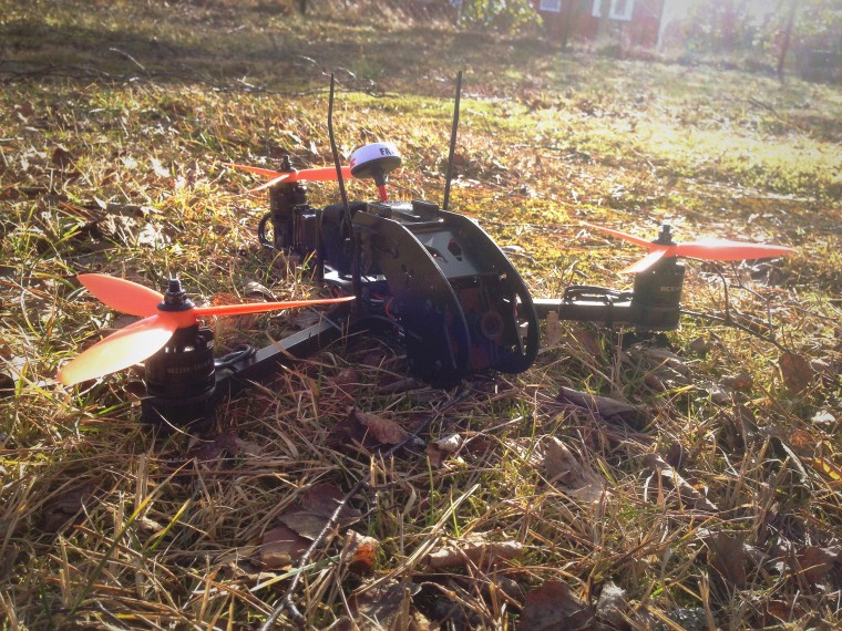 Mini Tricopter 6x4.5x3