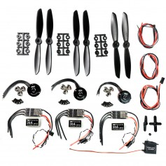 Mini Tricopter Electronics kit