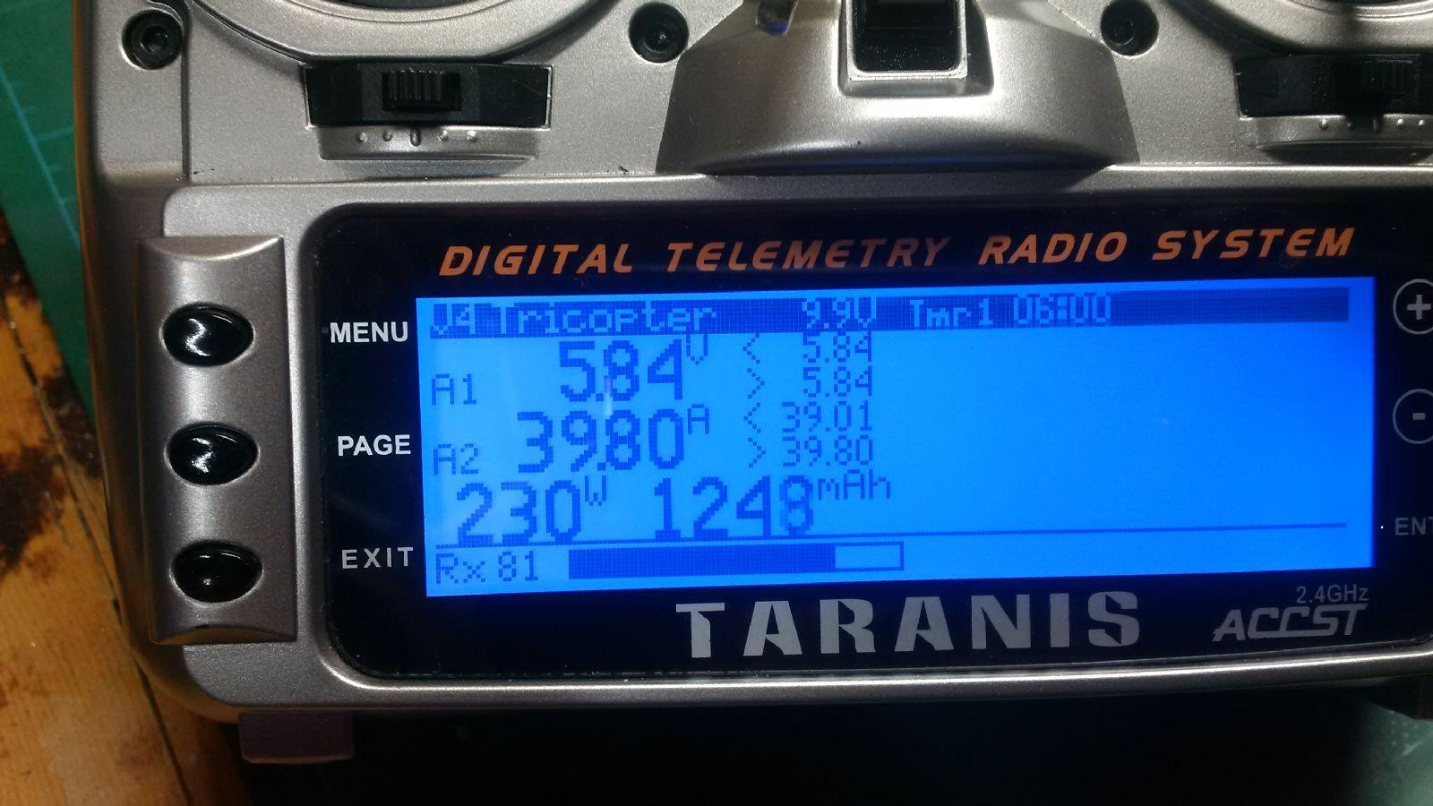 Howto: Taranis telemetry for the F3FC – RCExplorer