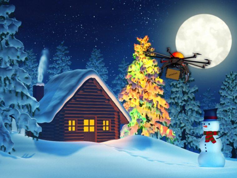 christmas-drone