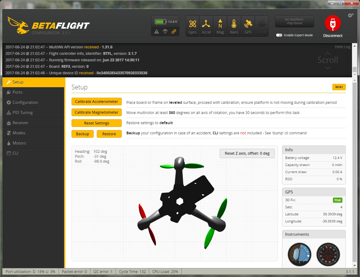 Triflight 0,7a and GPS – RCExplorer