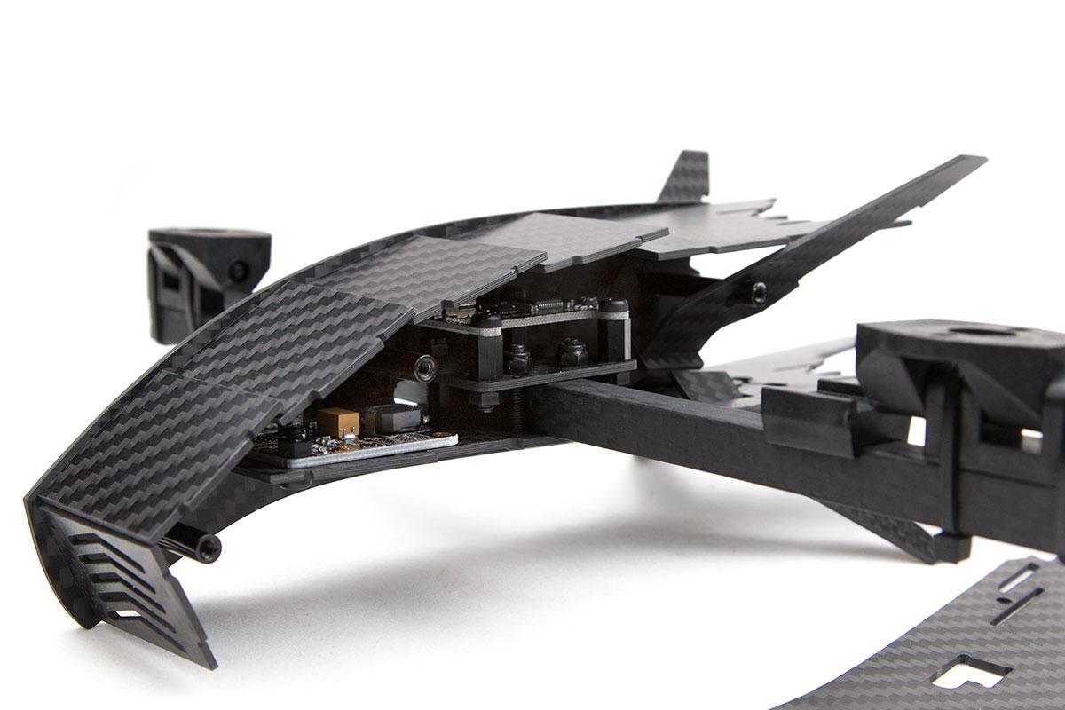 Bicopter inside